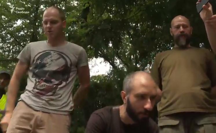 Під час Хресної ходи у Києві відбулися сутички