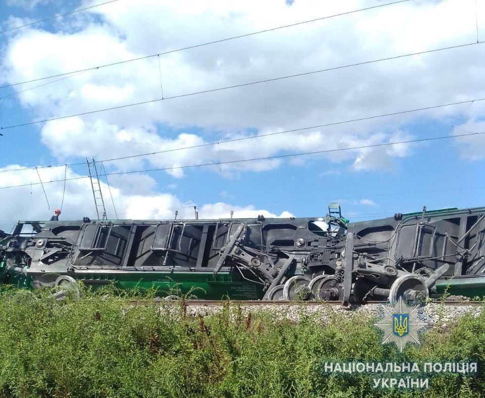 Под Одессой произошла ж/д катастрофа