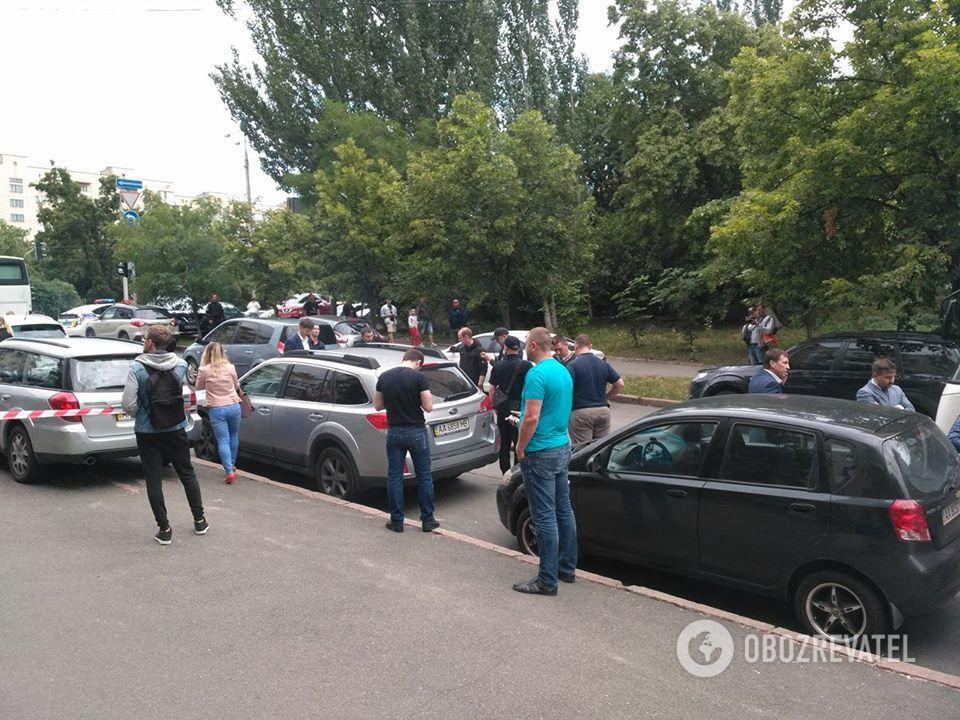 В центре Киева расстреляли человека: подробности, фото и видео