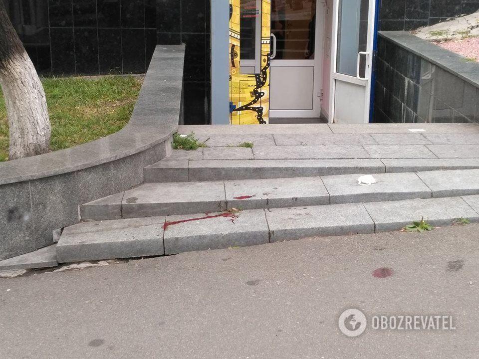 В центре Киева произошла стрельба: опубликовано первое видео
