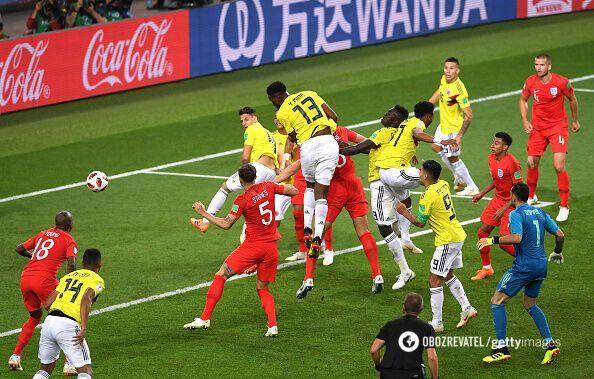 Колумбия - Англия