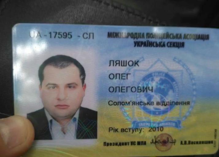 В Киеве поймали пьяного чиновника за рулем