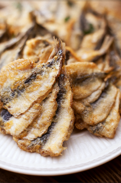 Битки из тюльки: два рецепта