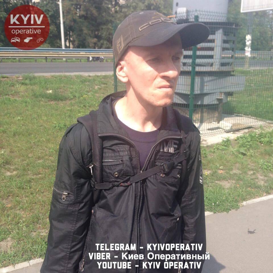 Подозреваемый Александр Танасийчук