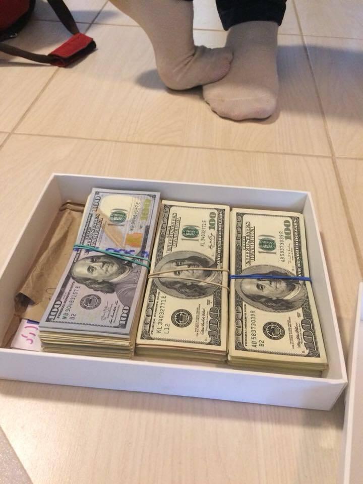 Доллары коробкой: чиновница Минюста погорела на взятке