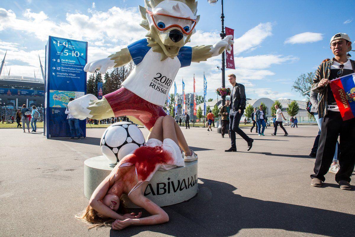 Протест в Санкт-Петербурзі