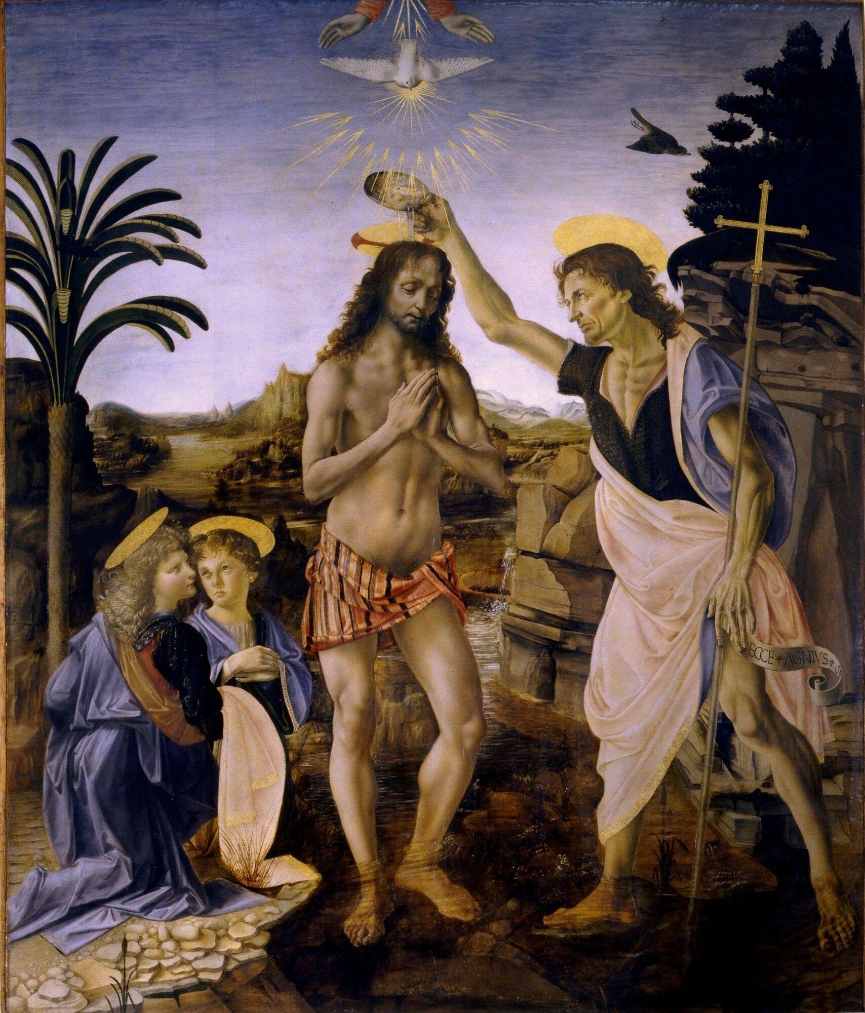 Леонардо да Вінчі, Хрещення