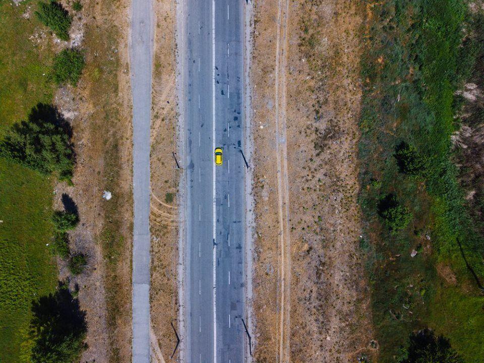 Полеты над Киевом: в сети показали волшебные фото