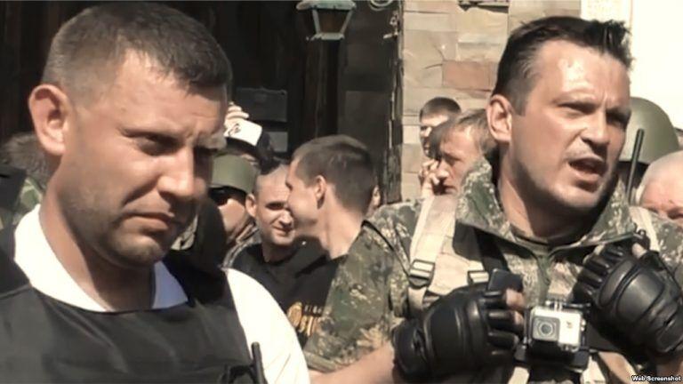 Захарченко и Погодин (справа)