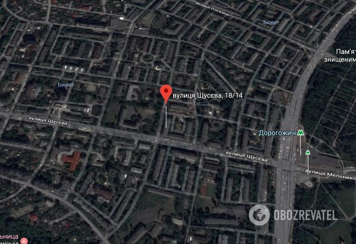 ЧП произошло на ул. Щусева
