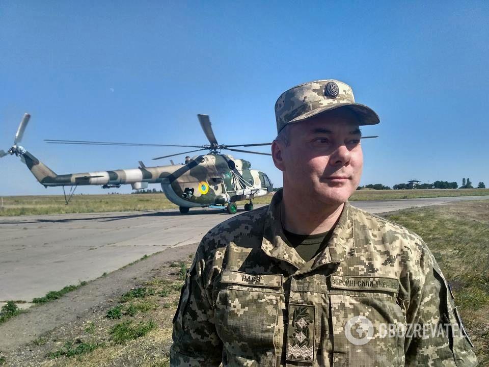 Командующий Объединенных сил генерал-лейтенант Сергей Наев