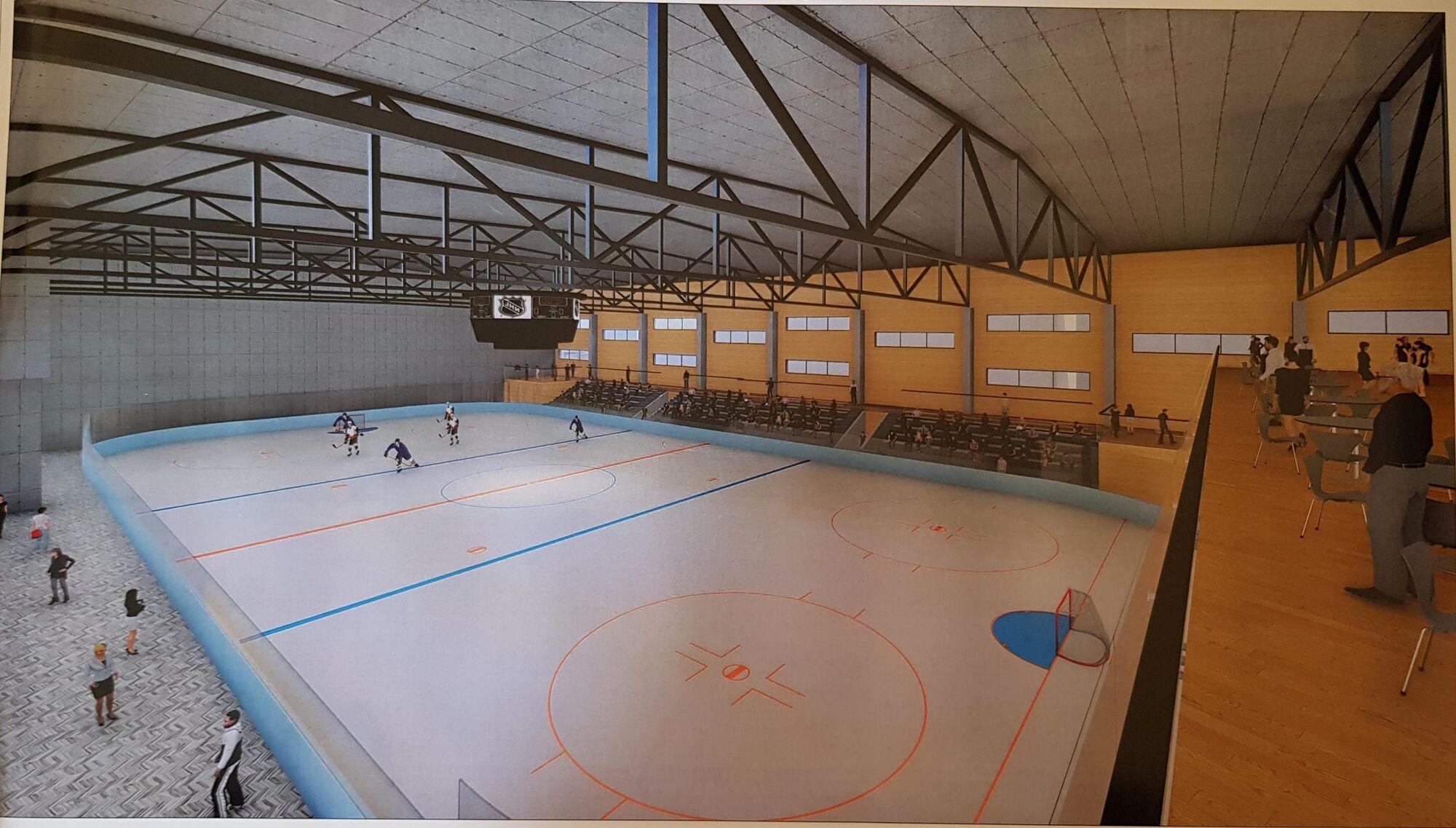 У Львові з'явиться льодова арена: як вона буде виглядати