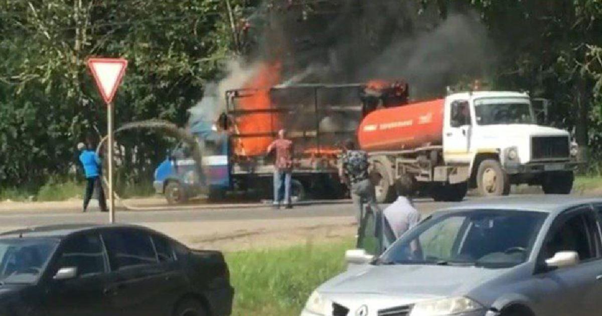 У Росії похвалилися гасінням пожежі фекаліями