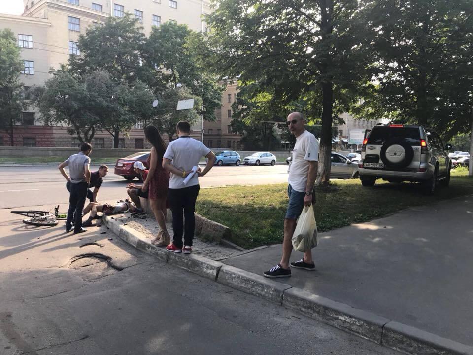 ДТП с Андреем Бессоновым