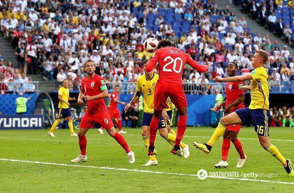 ЧМ-2018: Англия в третий раз в истории вышла в полуфинал