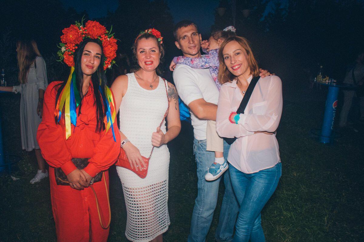 Купальская ночь в Киеве: яркие фото