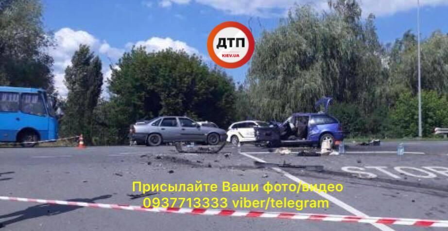 Під Києвом сталися два смертельних ДТП