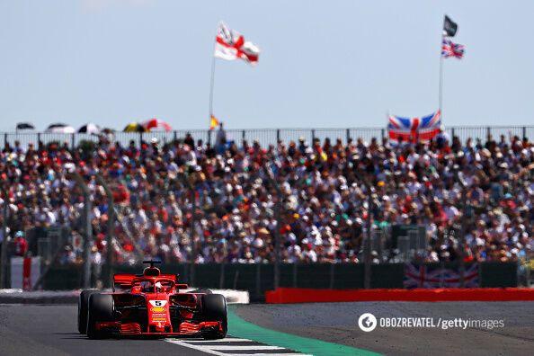 Ferrari сделали дубль на Гран-при Великобритании