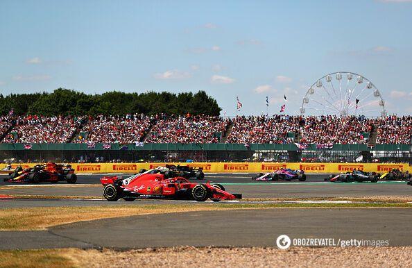 Ferrari зробили дубль на Гран-прі Великобританії
