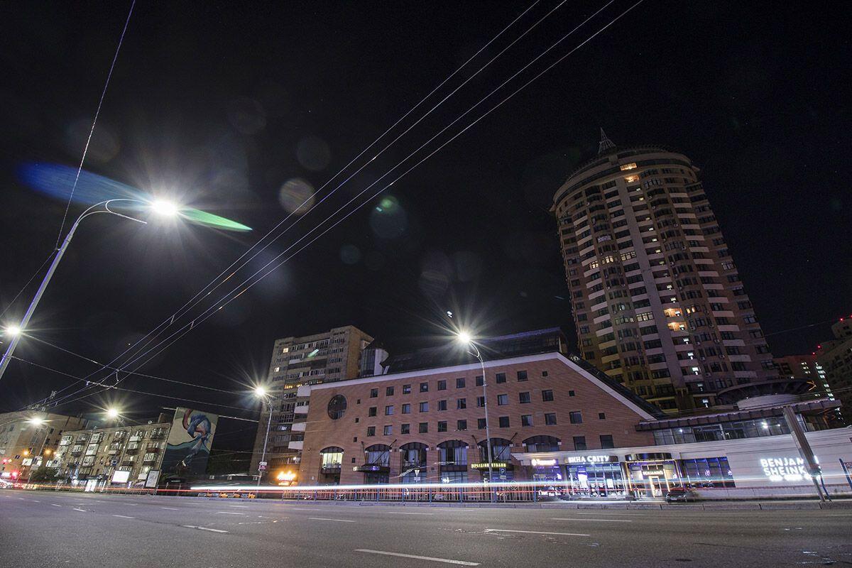 Как выглядит ночной Киев: яркие фото столичного бульвара