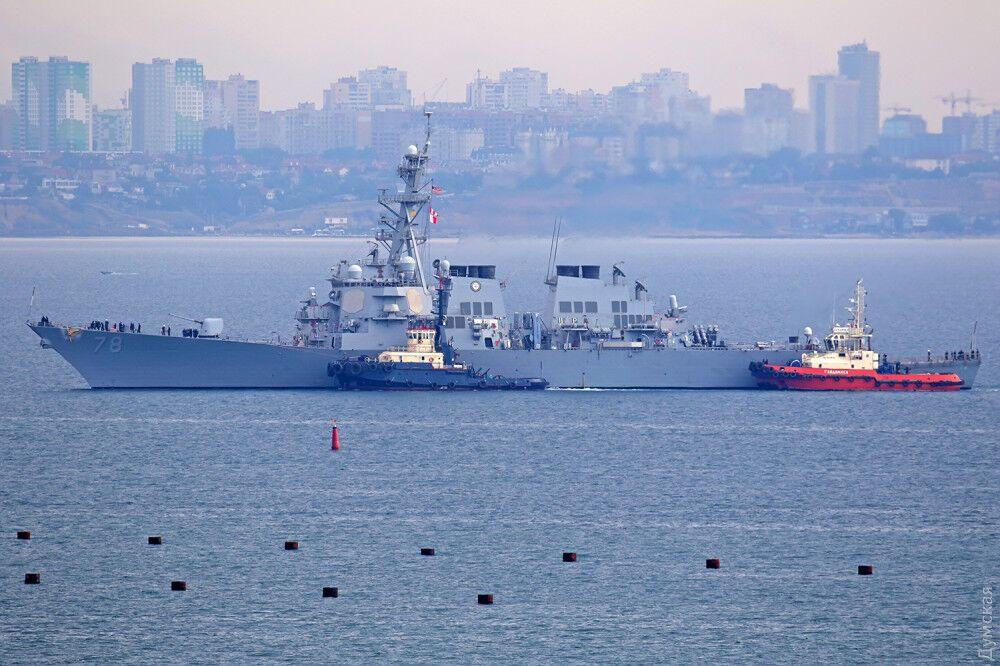 Корабль, который унизил Путина: что известно об эсминце США, прибывшем в Украину
