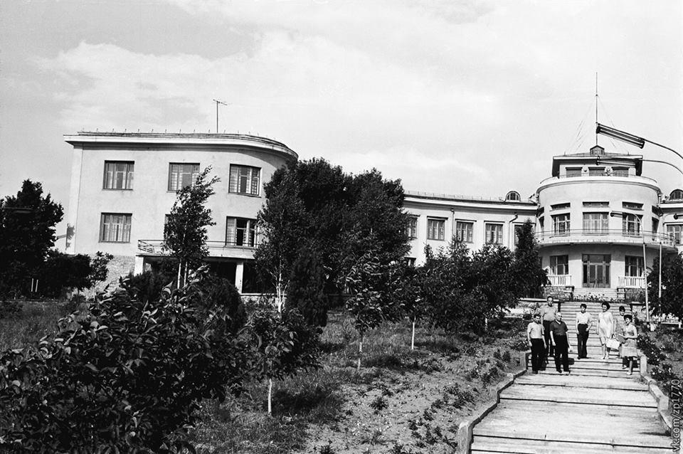 Головний корпус профілакторію, червень 1968 рік.