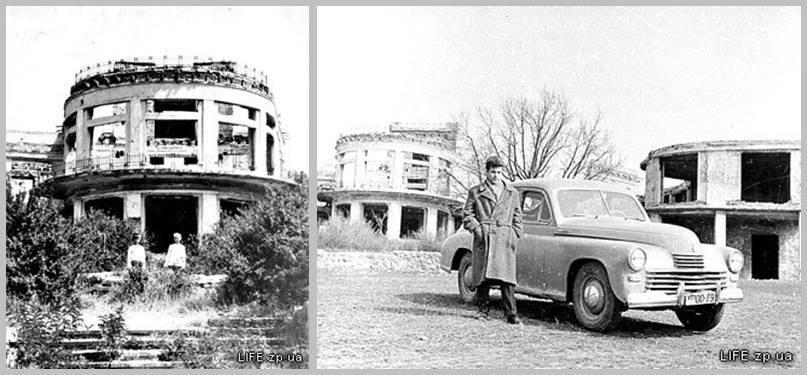 Споруди будинків відпочинку після війни - 50-і роки.