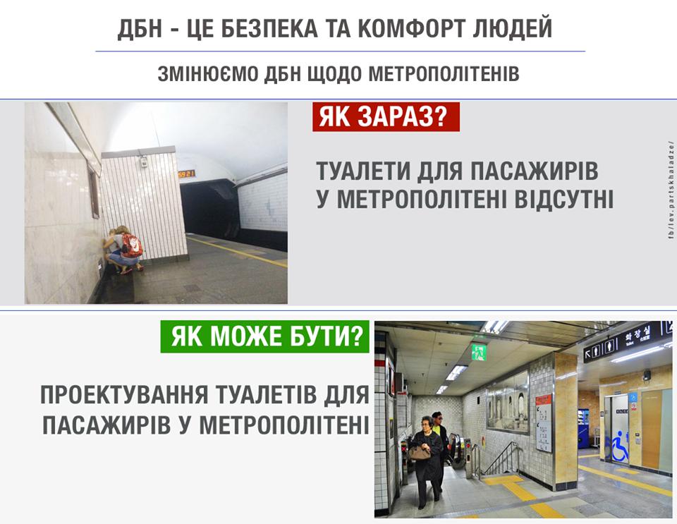 Как в Париже: в киевском метро могут появиться туалеты