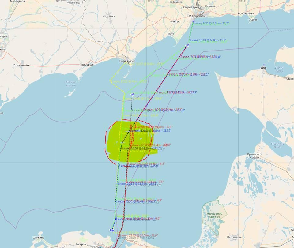 Пора созвать СНБО: РФ устроила провокацию в Азовском море
