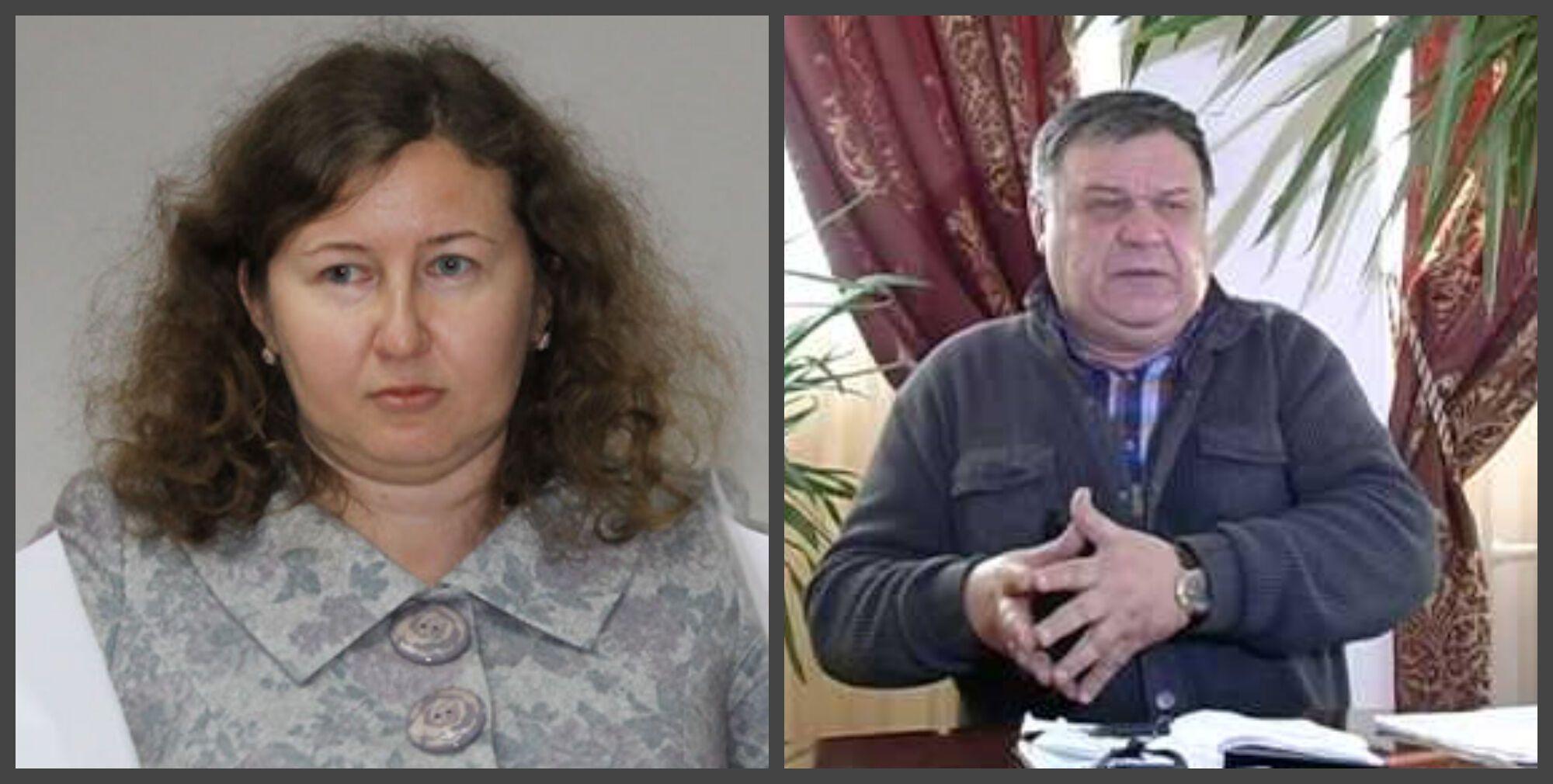 Судья Ирина Павлюк с мужем-бизнесменом Вадимом Павлюком