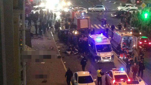 В аварии в Харькове погибли шесть человек