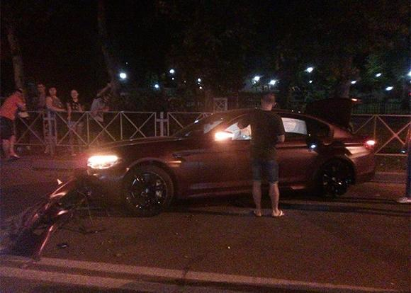 Лучший футболист России разбил авто за 9 млн