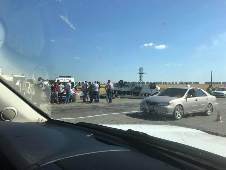 Під Запоріжжям сталася жахлива ДТП з маршруткою: загинули п'ятеро дітей