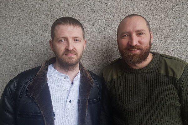 Сергій Колмогоров і Мирослав Гай