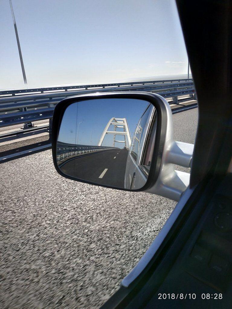 """В сети высмеяли """"бешенный трафик"""" на Крымском мосту"""