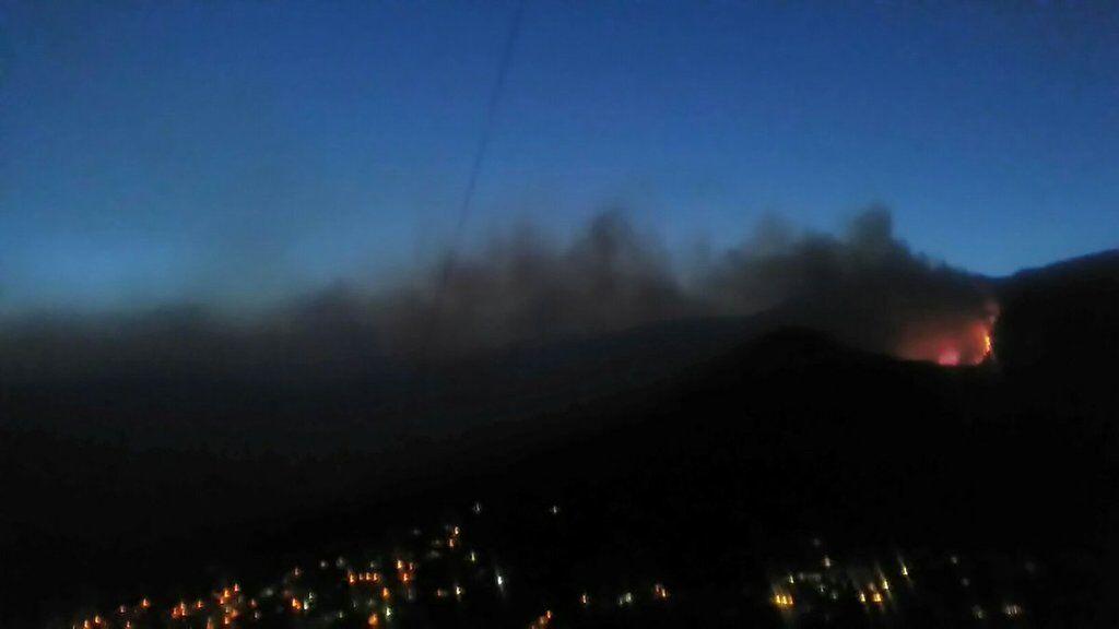 У Криму спалахнула масштабна пожежа