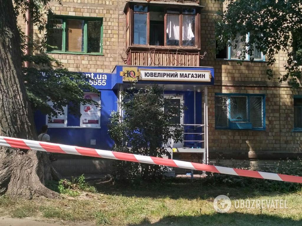 """Ограбление """"ювелирки"""" в Киеве: стали известны подробности"""