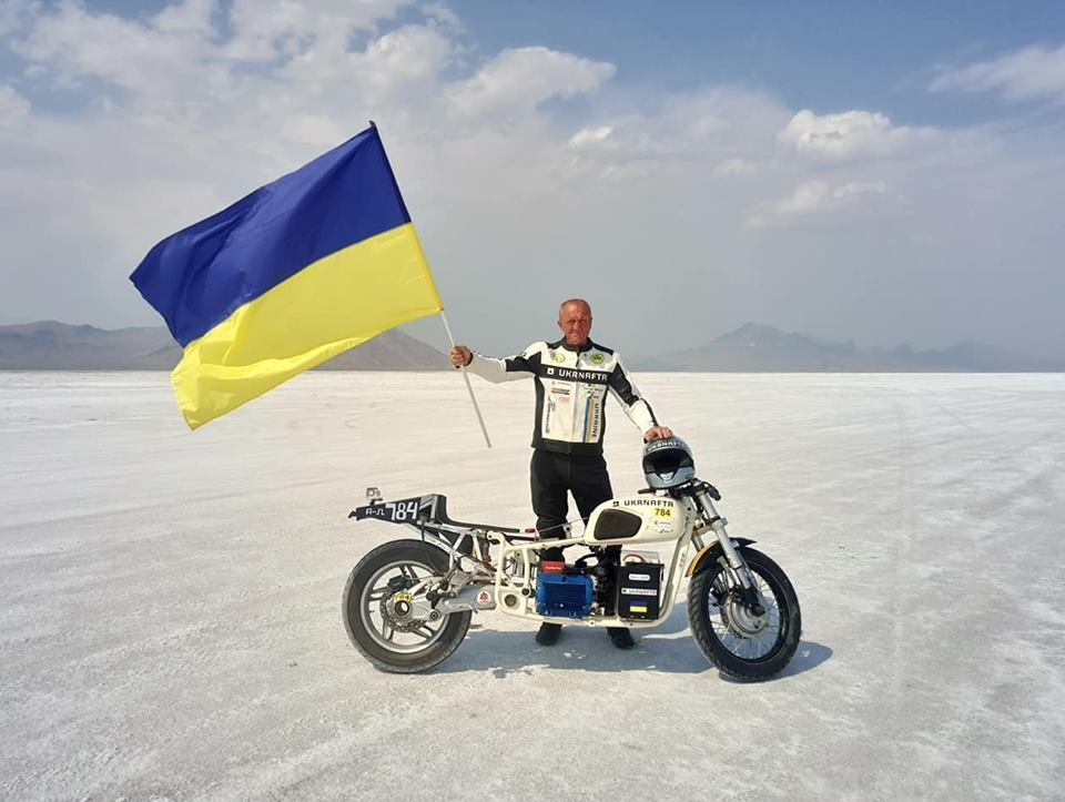 Рекорд скорости от Сергея Малика