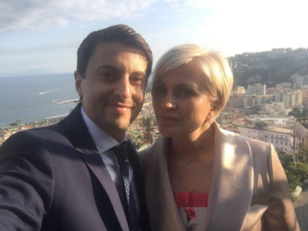 Евгений Бабин и Наталья Елина
