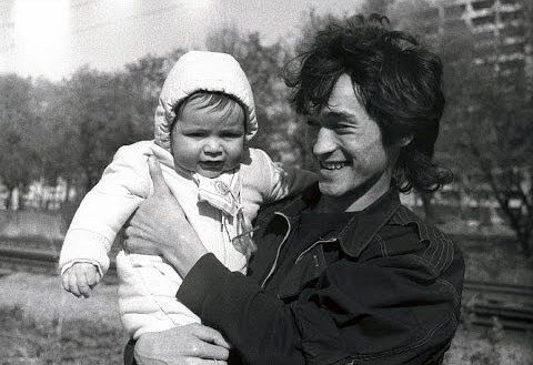 Виктор Цой с сыном Александром
