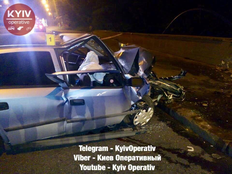 У Києві таксист влаштував смертельну ДТП