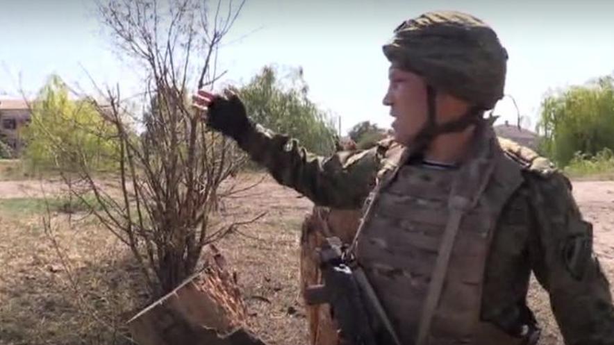 Пропагандистів РФ обстріляли на Донбасі