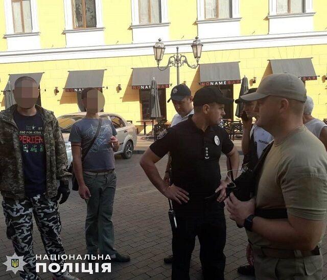 ЛГБТ-марш в Одессе
