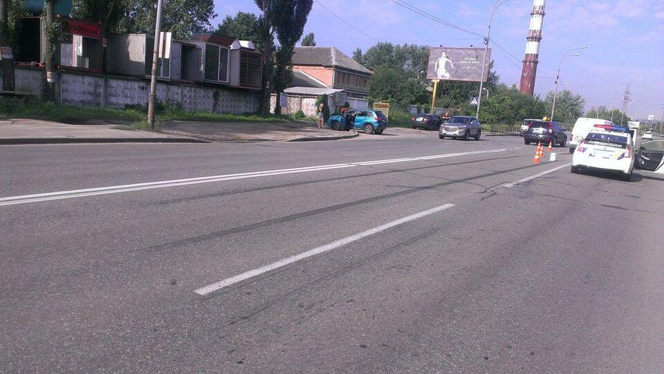 Киевский поэт попал в аварию