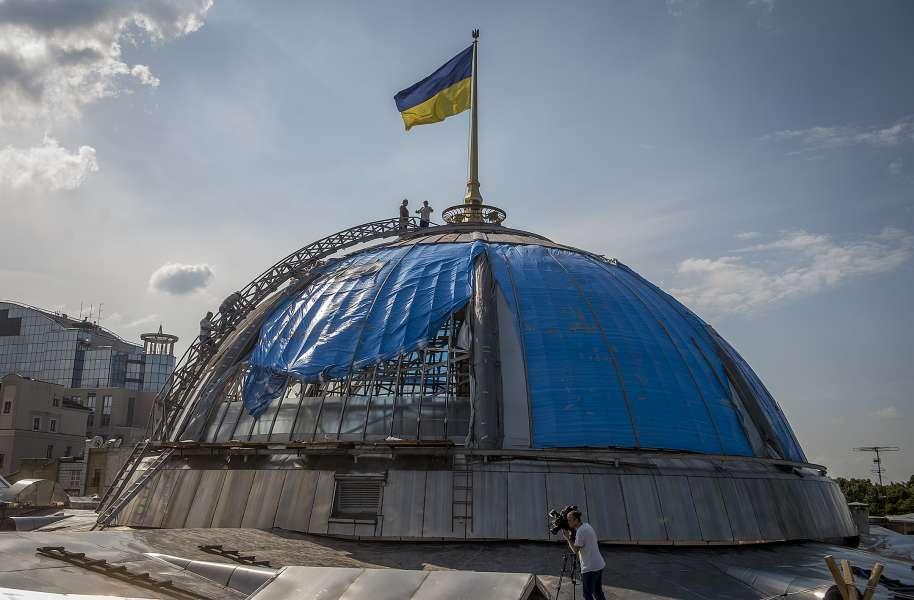 Во сколько обойдется ремонт купола Верховной Рады