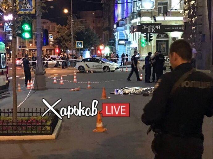 На мерію Харкова напали: поранений охоронець і загинув поліцейський. Усі подробиці