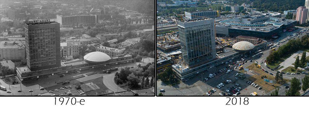 Як змінювалася Либідська: яскраві фото Києва з минулого століття