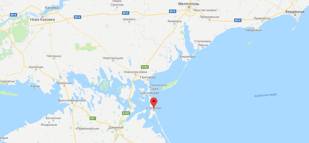 Місце трагедії село Стрілкове