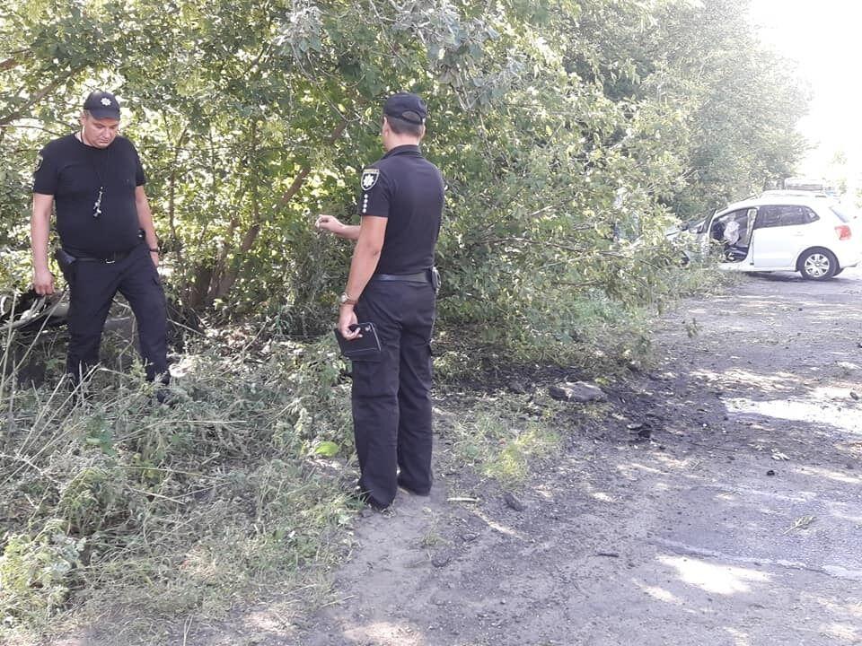 Водія Нелі Штепи та Ірми Крат зіштовхнули з дороги фурою