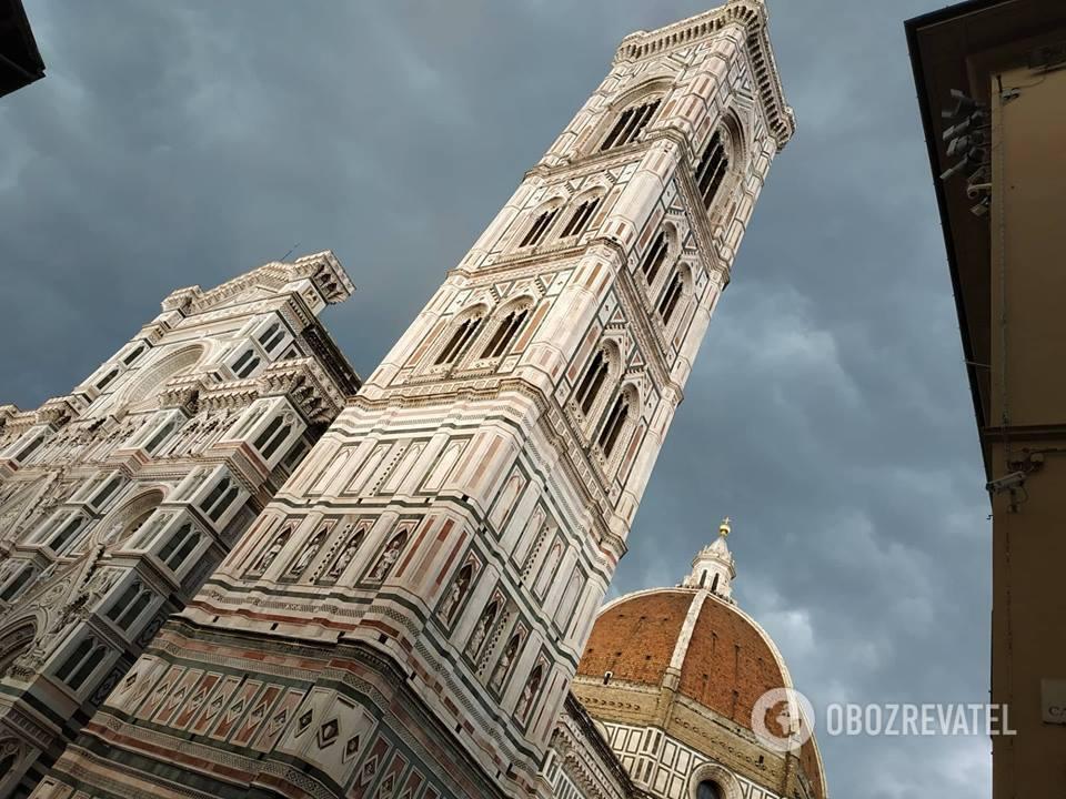 Знаменитый собор Санта-Мария-дель-Фьоре во Флоренции
